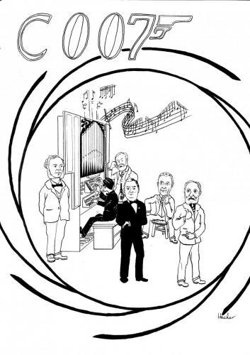 James Bond organiste