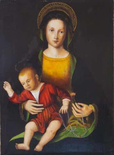 Vierge à l'enfantLouis Brea