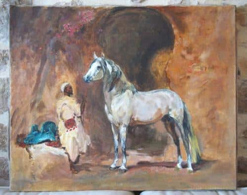 Le cheval du Caïd Henri Rousseau