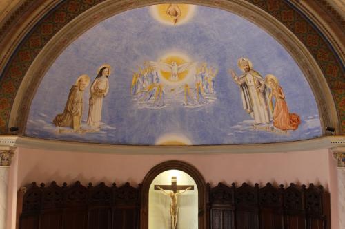 Adoration de la Trinité, chapelle du seminaire de la Castille