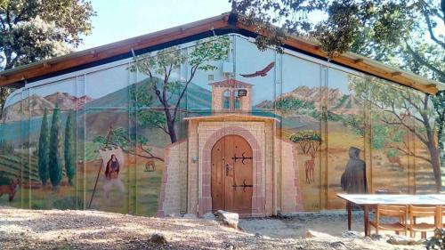 peinture murale en exterieur