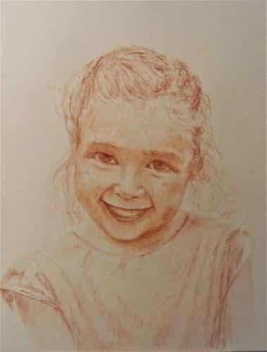 Portrait de Violaine