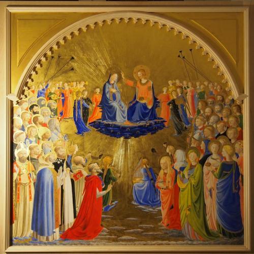Couronnement de la viergeFra Angelico