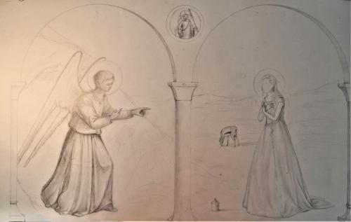 Annonce de la resurrection a Marie Madeleine